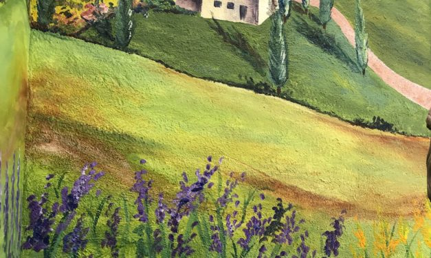 A Bit of Tuscany in Santa Rosa!